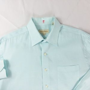 Tommy Bahama L/S Button Down Shirt 16-34-35 EUC